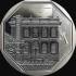 La nueva moneda tiene como diseño principal el frontis de la Casa Nacional de la Moneda.