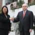 El primer ministro Pedro Cateriano y la lideresa de Fuerza Popular, Keiko Fujimori, marcaron el segundo encuentro del reinicio de conversaciones del Gobierno con las agrupaciones políticas del país.