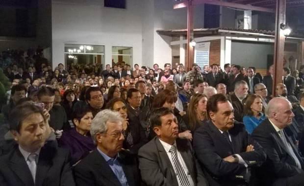 La reunión congregó a militantes y dirigentes apristas