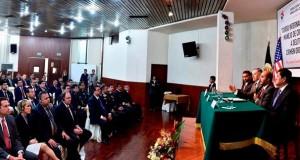 Hoy se inauguró el curso organizado por el Ministerio del Interior y la Embajada de Estados Unidos en el Perú.