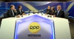 Los dirigentes políticos Jorge del Castillo y Raúl Castro confirmaron en entrevista con RPP Noticias, la alianza electoral. (Foto: RPP)