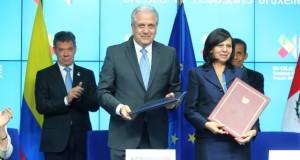 La Canciller Ana María Sánchez señaló que la Unión Europea se encuentran a la espera de que los pasaportes biométricos en la Superintendencia Nacional de Migraciones empiecen a emitirse.