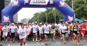 La carrera de 5k fue organizada por la Defensoría del Pueblo, en el marco de las celebraciones por el Día Internacional de los Derechos Humanos.
