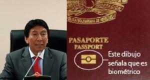 El parlamentario andino, Hildebrando Tapia, indicó que el verdadero problema está en la fallida expedición de pasaportes biométricos por parte de la Superintendencia de Migraciones.