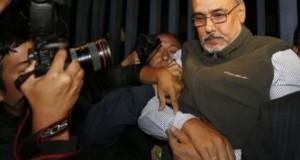 La policía detuvo al extitular de la FPF, Manuel Burga, en su domicilio de San Isidro. (Foto ANDINA).