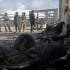 El grupo terrorista Al Shabab hizo detonar un coche bomba en la entrada de la base militar, matando a soldaos de la fuerza multinacional africana. (Foto: AFP)