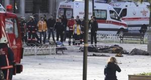 Atentado terrorista en Estambul causó 10 muertos y 15 heridos. (Foto: Reuters).