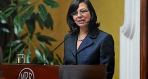 La ministra, Ana María Sánchez, señaló que nuestros compatriotas en el exterior podrán cumplir en forma normal con su deber cívico.