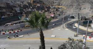 Hoy se puso en marcha los túneles Santa Rosa y San Martín que beneficiarán a aproximadamente un millón de personas.