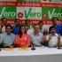 La lideresa del Frente Amplio, Verónika Mendoza, dio a conocer la nómina de sus candidatos al Congreso por Lima y para los peruanos en el exterior.