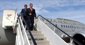 El presidente Ollanta Humala viajó esta mañana a Cuba atendiendo una invitación de las autoridades del gobierno cubano.
