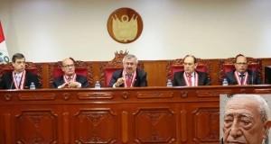 Por unanimidad el Pleno del Jurado Nacional de Elecciones declaró improcedente la inscripción de Don Isaac Humala, por trasgredir la Ley Orgánica de Elecciones al ser padre del presidente de la República.