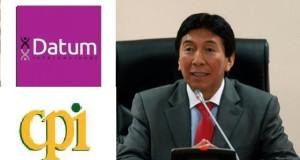 El parlamentario andino y vicepresidente del PPC, Hildebrando Tapia, subrayó que en el 2011 testigos declararon que se efectuaron pagos de 20 y 30 mil dólares mensuales a Datum y CPI para favorecer a un candidato.