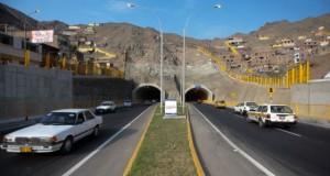 La puesta en marcha de los túneles Santa Rosa y San Martín beneficiarán aproximadamente a un millón de personas.