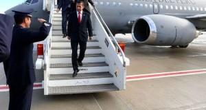 El presidente Ollanta Humala partió a la capital belga de Bruselas, para presenciar la firma del importante convenio del Perú con la Unión Europea.