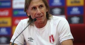 """Ricardo Gareca manifestó que """"aquel que no esté al 100% no lo voy arriesgar para este partido""""."""