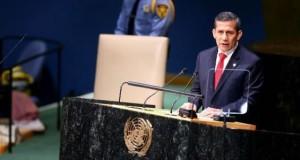 El presidente Ollanta Humala planteó en la sesión de la ONU sobre el Problema Mundial de las Drogas, que no se debe tener una relación de cooperación sino de asociación estratégica internacional para combatir este flagelo.