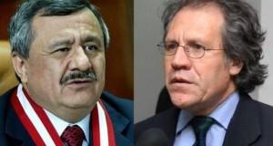 El presidente del Jurado Nacional de Elecciones, Francisco Távara Córdova, señaló que su organismo rechaza con serenidad, pero con firmeza, las desafortunadas declaraciones de Luis Almagro.