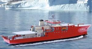 """El BAP """"Carrasco"""" es un moderno buque de investigación oceanográfico con capacidad polar, que contribuirá a potenciar el desarrollo del país."""