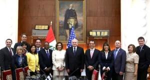 La tradicional foto oficial de este importante encuentro en Palacio de Gobierno.