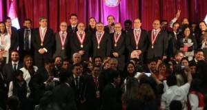 El presidente del JNE, Francisco Távara Córdova, exhortó a los recientes congresistas electos a cumplir con sus deberes encomendados por el pueblo y no poner en riesgo lo conseguido.