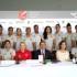 Equipo blanquirrojo que buscará clasificar en Japón a las Olimpiadas de Río de Janeiro.