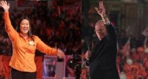Los candidatos presidenciales Keiko Fujimori y Pedro Pablo Kuczynski culminan hoy sus campañas electorales, con miras al proceso eleccionario de este domingo 5 de junio.