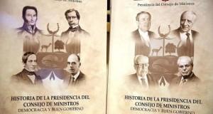 La obra ha sido editada en dos tomos. El primero, comprende lo relativo al período entre los años 1820 y 1956, y el segundo, desde el año 1956 hasta la actualidad.