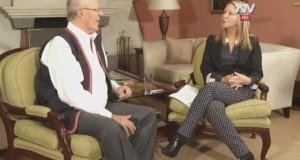 El presidente Pedro Pablo Kuczynski en entrevista con la periodista Verónica Ayllón, sostuvo que uno de los mayores retos del país es evitar los conflictos sociales, porque perjudican las inversiones.