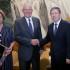 En su penúltimo día de la Visita de Estado al gigante asiático, el presidente Pedro Pablo Kuczynski se reunión con el alcalde de Shanghái, Yang Xiong. Lo acompaña la primera dama Nancy Lange.