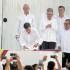 El mandatario peruano Pedro Pablo Kuczynski presenció esta tarde la firma del Acuerdo Final de Paz entre el presidente de Colombia, Juan Manuel Santos, y el líder de las FARC, Rodrigo Londoño.