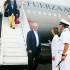 El presidente Pedro Pablo Kuczynski arribó a Cartagena de Indias, Colombia, cerca de las 6 de esta tarde. (Foto: Presidencia Perú).