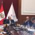 El presidente del Consejo de Ministros, Fernando Zavala Lombardi, recibió a la bancada aprista para explicarles los alcances del pedido de delegación de facultades legislativas por 120 días.