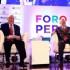 El presidente Pedro Pablo Kuczynski sostuvo hoy un diálogo abierto con el secretario general de la OCDE, Ángel Gurría, ante el auditorio que concurrió al importante foro internacional.