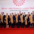 Foto oficial con los líderes de las 21 economías más poderosas del mundo, al llegar a su fin tan importante evento desarrollado en Lima.