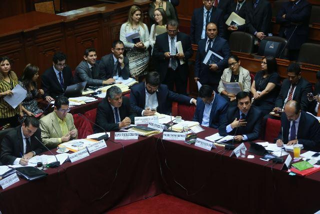 Propuestas de la Comisión de Justicia del Congreso de la República,  modificarán la carta Magna y fortalecerá la lucha contra la corrupción.