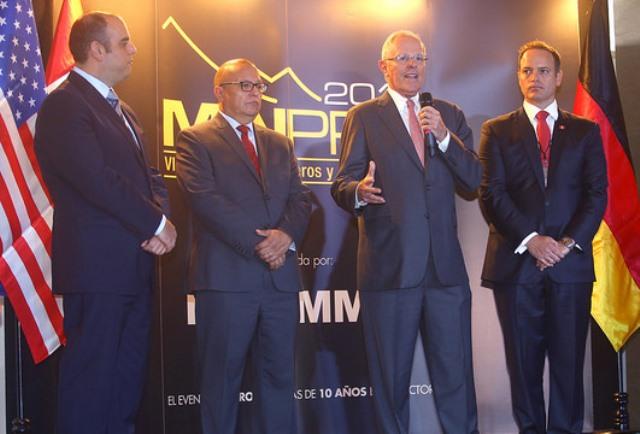 El presidente Pedro Pablo Kuczynski durante el acto inaugural dijo que el Perú necesita crecer y para ello son importantes las exportaciones de productos en los cuales tenemos una ventaja en el mundo.
