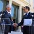 En la reunión el presidente Pedro Pablo Kuczynski confirmó la visita oficial que realizará su homólogo francés Emmanuel Macro al Perú, en setiembre próximo.