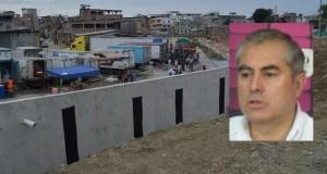 El parlamentario andino Mario Zúñiga Martínez señaló que la construcción del muro fronterizo va en contra de la integración social, política y comercial de ambos países.