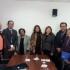 Representantes de diversos organismos que reúnen a peruanos en el exterior, entregaron la carta de petición al congresista Miguel Torres, presidente de la Comisión de Constitución del Congreso de la República.