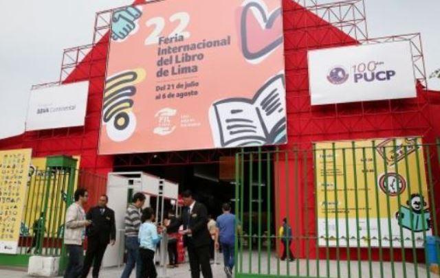 Sede de la 22ª Feria Internacional del Libro de Lima-FIL LIMA 2017, en el distrito limeño de Jesús María.