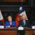 El presidente del Perú, Pedro Pablo Kuczynski, y su homóloga de Chile, Michelle Bachelet, durante el acto inaugural del Encuentro Presidencial y I Gabinete Binacional Perú-Chile, reunión fundamental para profundizar nuestras relaciones bilaterales.