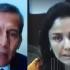 El expresidente Ollanta Humala y su esposa Nadine Heredia hicieron uso de la palabra vía teleconferencia, desde sus establecimientos penales, para rechazar su prisión preventiva de 18 meses.
