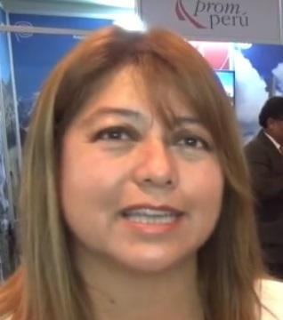 Rosa Elena Balcázar, presidenta de AHORA – Huaral.