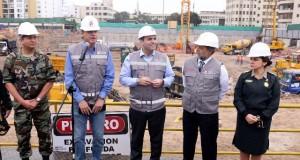 El primer ministro Fernando Zavala inspeccionó el avance de las obras de lo que será esta nueva infraestructura y sostuvo que la misma significará una mejora sustancial en el acceso a servicios de salud de calidad para la gran familia policial.