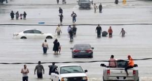 Así ha quedado Houston que se encuentra prácticamente sumergida a consecuencia del huracán Harvey. (Foto: Diez).