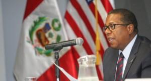 El embajador norteamericano Brian A. Nichols, subrayó que después de la entrada en vigor del TLC con Estados Unidos, se ha duplicado el comercio bilateral con el Perú.