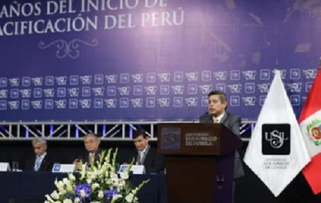 El presidente del Congreso, Luis Galarreta Velarde, dijo que ésta propuesta ya es de conocimiento del ministro de Educación, Idel Vexler.
