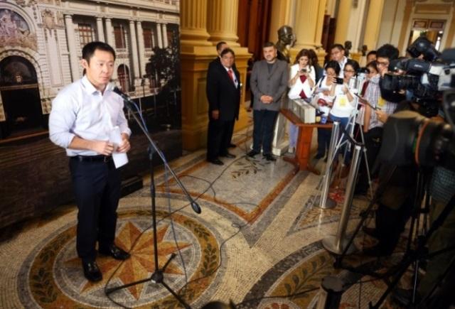 El parlamentario Kenji Fujimori pasará nuevamente por otro proceso disciplinario de su partido Fuerza Popular.