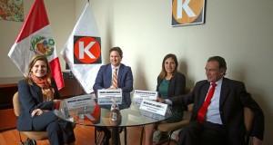 La jefa del Gabinete Ministerial, Mercedes Aráoz se reunió hoy con los voceros de Fuerza Popular: Daniel Salaverry, Héctor Becerril y Milagros Salazar.